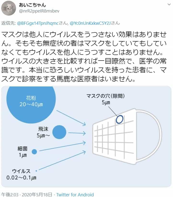 内海聡医師が解説『マスク不要論』~少しの効果と怖いリスク~